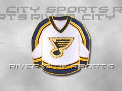 ST. LOUIS BLUES HOME SWEATER PIN. Found in Souvenirs > Pins
