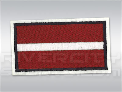 LATVIA CCM JERSEY PATCH. Found in Jerseys > Patches