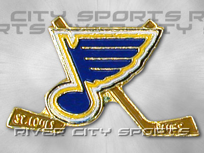 ST. LOUIS BLUES X-Stick Pin. Found in Souvenirs > Pins