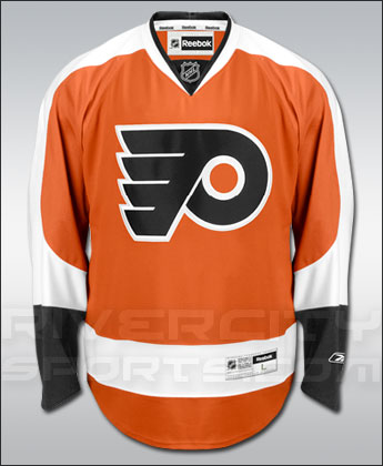 PHILADELPHIA FLYERS REEBOK PREMIER REPLICA JERSEY. Found in Jerseys > Premier