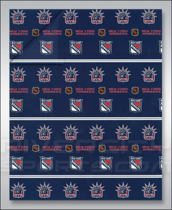 NEW YORK RANGERS GIFT WRAP found in NHL > Souvenirs > Christmas ...