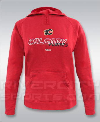CALGARY FLAMES WOMENS VOYAGERSTITCH FLEECE. Found in Clothing > Fleece