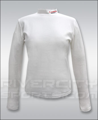 CALGARY FLAMES WMNS STRECH MOCKNECK. Found in Clothing > Shirts