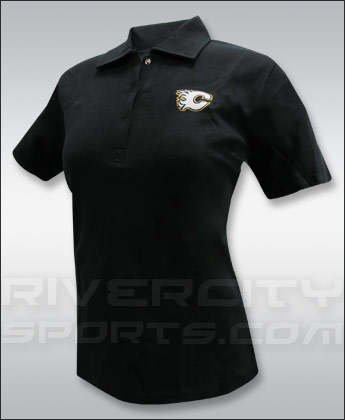 CALGARY FLAMES WOMENS SHORT SLEEVE POLO TEE. Found in Clothing > Shirts