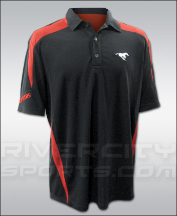 CALGARY STAMPEDERS AFTERBURN POLO. Found in Clothing > Shirts