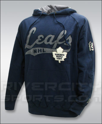 TORONTO MAPLE LEAFS OLD TIME HOCKEY DODGER FLEECE HOODY. Found in Clothing > Fleece