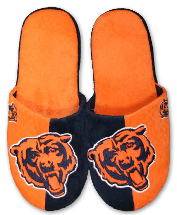 CHICAGO BEARS 2012 BIG LOGO SLIPPER. Found in Clothing > Footwear