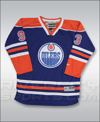 EDMONTON OILERS REEBOK YOUTH PREMIER JERSEY - NUGENT-HOPKINS. Found in Jerseys > Premier