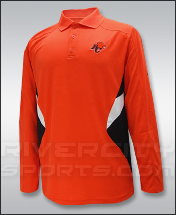 BC LIONS REEBOK SIDELINE STANDOUT LONG SLEEVE POLO. Found in Clothing > Shirts