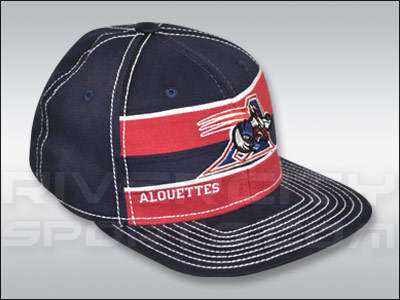 MONTREAL ALOUETTES REEBOK PLAYER FLATBRIM FLEX. Found in Clothing > Hats