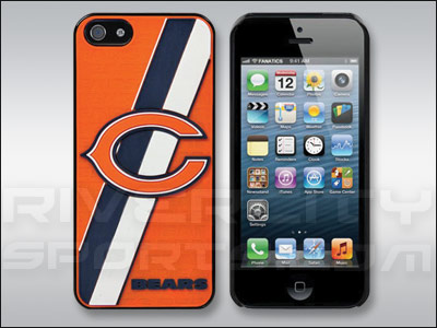 CHICAGO BEARS FOREVER COLLECTIBLES I-PHONE 5 HARD CASE. Found in Souvenirs > Accessorie