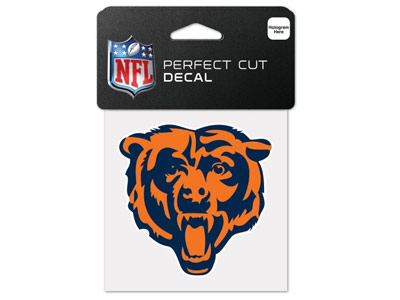 CHICAGO BEARS WINCRAFT 4X4 DIE CUT DECAL. Found in Souvenirs > Stickers