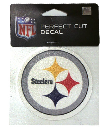 PITTSBURGH STEELERS WINCRAFT 4X4 DIE CUT DECAL. Found in Souvenirs > Stickers