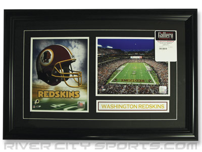WASHINGTON REDSKINS DBL 8X10 W/PIN&PLATE. Found in Souvenirs > Pictures