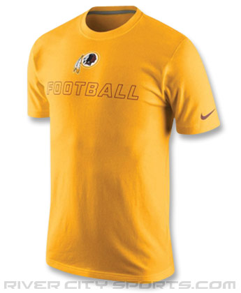 WASHINGTON REDSKINS NIKE TRAINING DAY T-SHIRT. Found in Clothing > T-Shirts