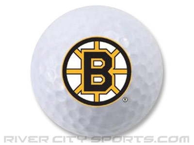 BOSTON BRUINS SINGLE GOLF BALL. Found in Souvenirs > Golf