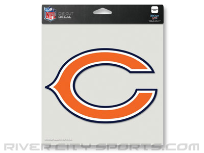 "CHICAGO BEARS WINCRAFT 8""x8"" COLOR DIE CUT DECAL. Found in Souvenirs > Stickers"