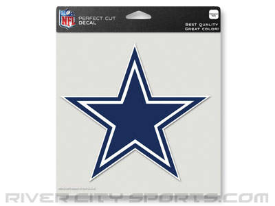 "DALLAS COWBOYS WINCRAFT 8""x8"" COLOR DIE CUT DECAL. Found in Souvenirs > Stickers"