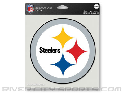 PITTSBURGH STEELERS COLOR DIE CUT DECAL. Found in Souvenirs > Stickers