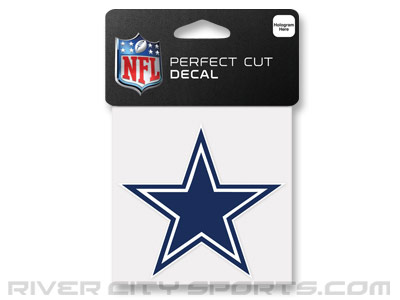 DALLAS COWBOYS WINCRAFT 4X4 DIE CUT DECAL. Found in Souvenirs > Stickers