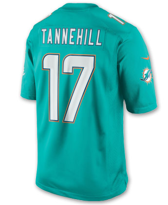 MIAMI DOLPHINS NIKE LIMITED JERSEY - TANNEHILL. Found in Jerseys > Limited