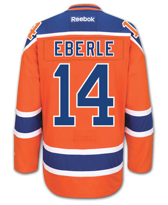 c3e64e299 EDMONTON OILERS REEBOK EDGE 2 AUTHENTIC JERSEY - EBERLE. Found in Jerseys    Pro