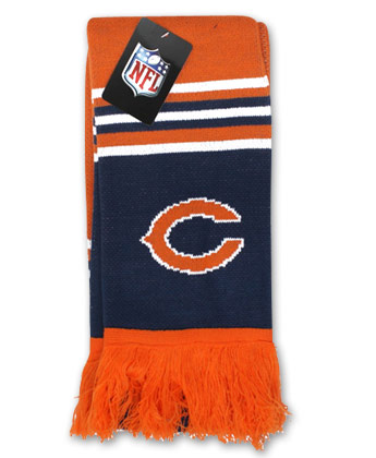 CHICAGO BEARS ADULT SCARF. Found in Clothing > Accessorie
