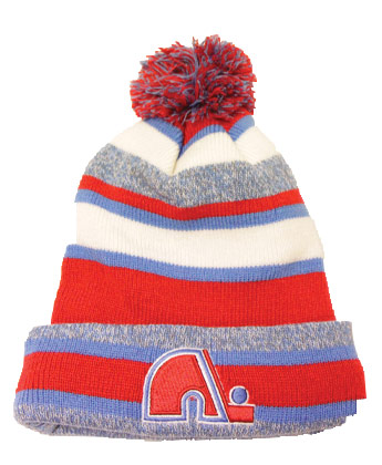 QUEBEC NORDIQUES VINTAGE KNIT W/POM. Found in Clothing > Hats