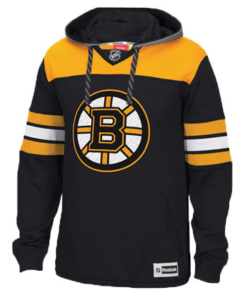BOSTON BRUINS JERSEY HOODY. Found in Clothing > Fleece