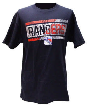 NEW YORK RANGERS FREEZE STRIPE TEE. Found in Clothing > T-Shirts