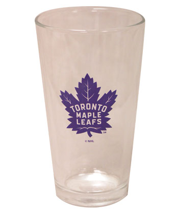 TORONTO MAPLE LEAFS MIXING GLASS 17oz. Found in Souvenirs > Glassware
