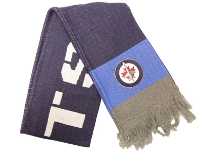 Winnipeg Jets TEAM SCARF. Found in Clothing > Accessorie