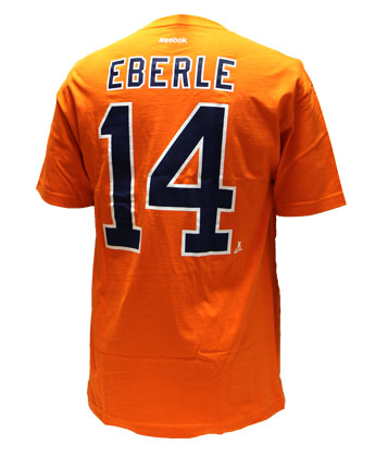 separation shoes 5bf22 5852a EDMONTON OILERS EBERLE REPLICA PA T-SHIRT found in NHL ...