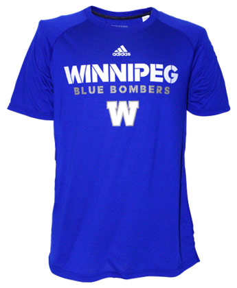 Winnipeg Blue Bombers SIDELINE ULTIMATE TEEE. Found in Clothing > T-Shirts