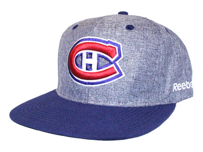 MONTREAL CANADIENS LINEN SNAPBACK CAP. Found in Clothing > Hats