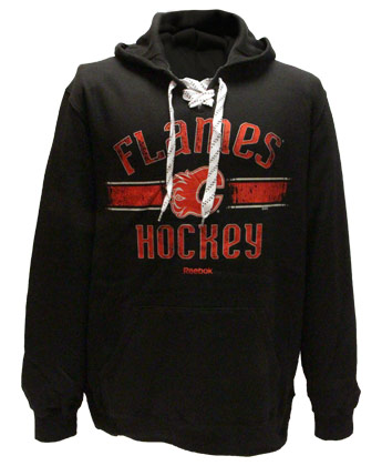 CALGARY FLAMES BIG REP PULLOVER HOODY. Found in Clothing > Fleece