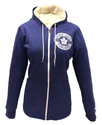 TORONTO MAPLE LEAFS LDS DNH FLEECE HOODIE. Found in Clothing > Fleece
