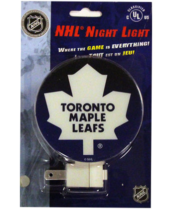 TORONTO MAPLE LEAFS NIGHT LIGHT. Found in Souvenirs > Home/Offic