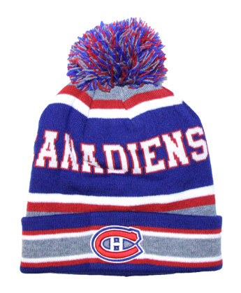 MONTREAL CANADIENS POM POM TOQUE. Found in Clothing > Hats