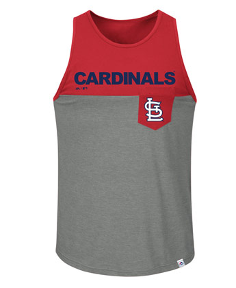 big sale 86108 695c6 St. Louis Cardinals THROW THE TOWEL TANK found in MLB ...