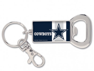 DALLAS COWBOYS BOTTLE OPENER KEYRING. Found in Souvenirs > Keychains