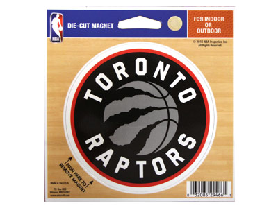 TORONTO RAPTORS DIE CUT MAGNET. Found in Souvenirs > Magnets
