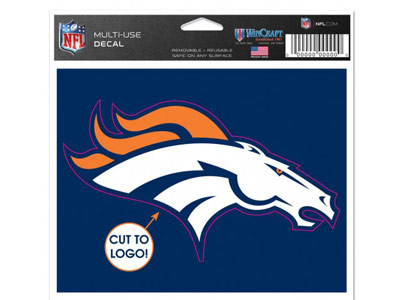 DENVER BRONCOS MULTI USE DECAL. Found in Souvenirs > Stickers