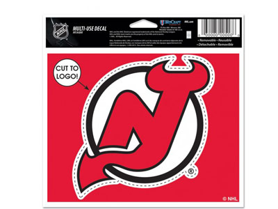 NEW JERSEY DEVILS MULTI USE DECAL. Found in Souvenirs > Stickers