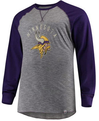 MINNESOTA VIKINGS CORNER BLITZ L/S. Found in Clothing > Shirts
