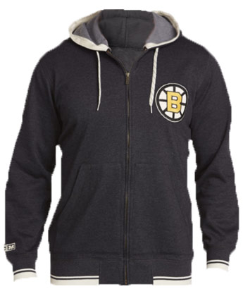 BOSTON BRUINS CCM FASHION FLEECE HOODY. Found in Clothing > Fleece