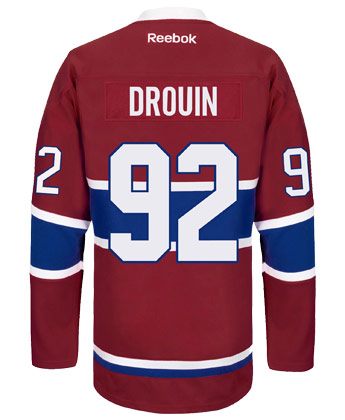 Montreal Canadiens Reebok Premier Centennial Jersey Rcs Customized Drouin Found In Nhl Jerseys Premier River City Sports