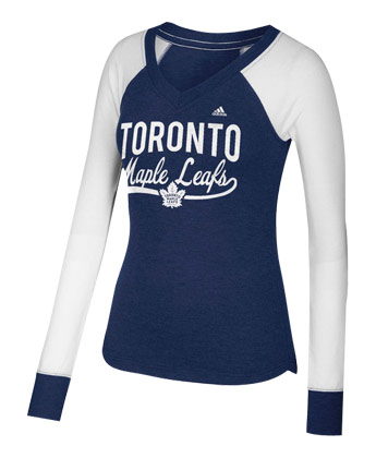 TORONTO MAPLE LEAFS ELBOW PATCH SHIRT. Found in Clothing > Shirts