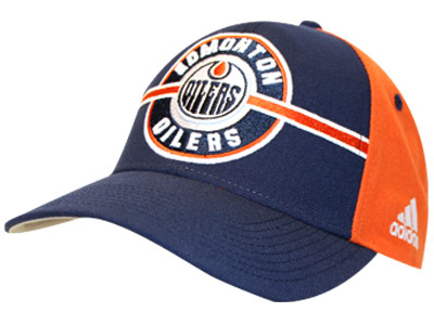 EDMONTON OILERS STRUCTURED ADJ. CAP. Found in Clothing > Hats