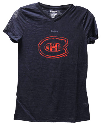 MONTREAL CANADIENS YTH GIRLS FADED LOGO. Found in Clothing > T-Shirts